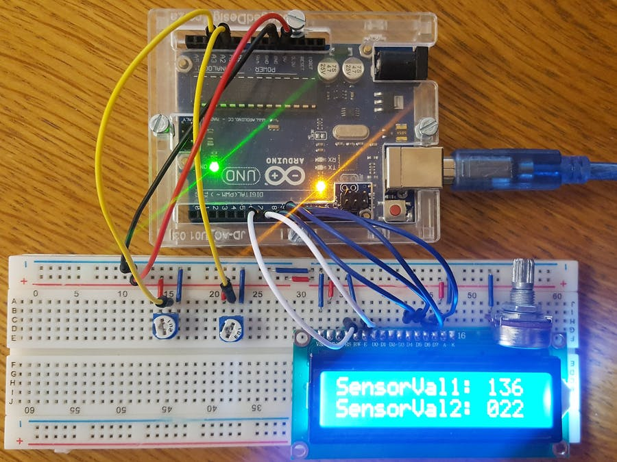 Outstanding Displaying Sensor Values On Lcd Arduino Project Hub Renstra Mohammedshrine Wiring Digital Resources Renstramohammedshrineorg