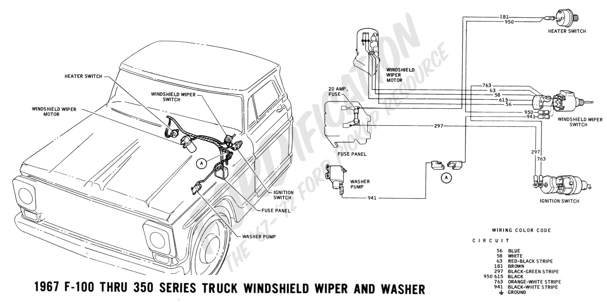 Fabulous 1966 Ford F100 Wiring Schematic Wiring Diagram Tutorial Renstra Mohammedshrine Wiring Digital Resources Renstramohammedshrineorg