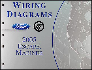 Incredible 2005 Ford Escape Mercury Mariner Wiring Diagram Manual Original Renstra Mohammedshrine Wiring Digital Resources Renstramohammedshrineorg