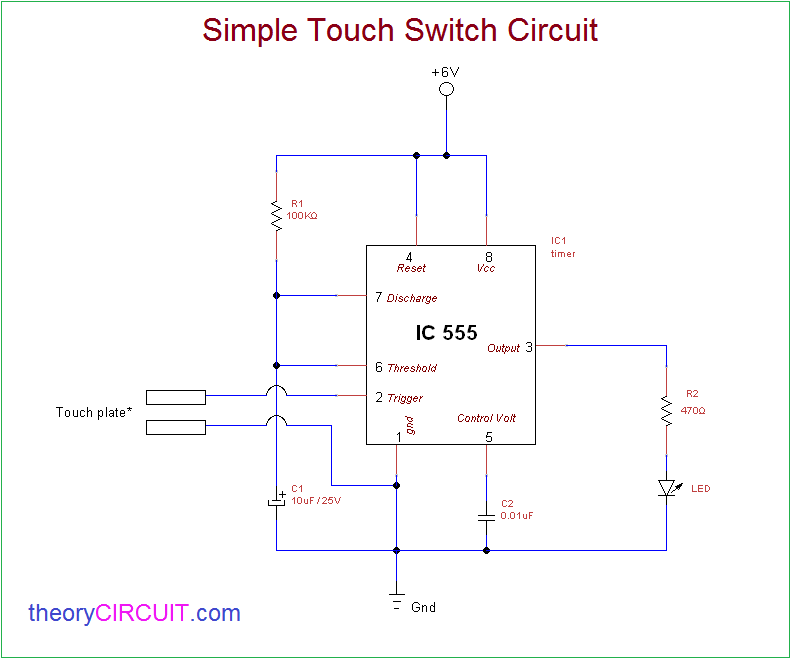 Surprising Touch Switch Circuit Basic Electronics Wiring Diagram Renstra Mohammedshrine Wiring Digital Resources Renstramohammedshrineorg