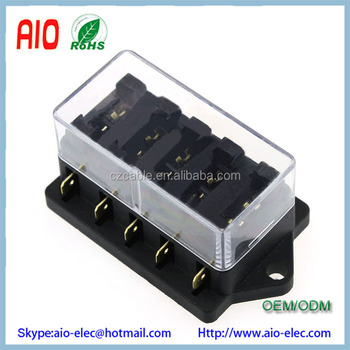 Fine Universal Car Truck Vehicle 12V 5 Way Circuit Automotive Middle Renstra Mohammedshrine Wiring Digital Resources Renstramohammedshrineorg