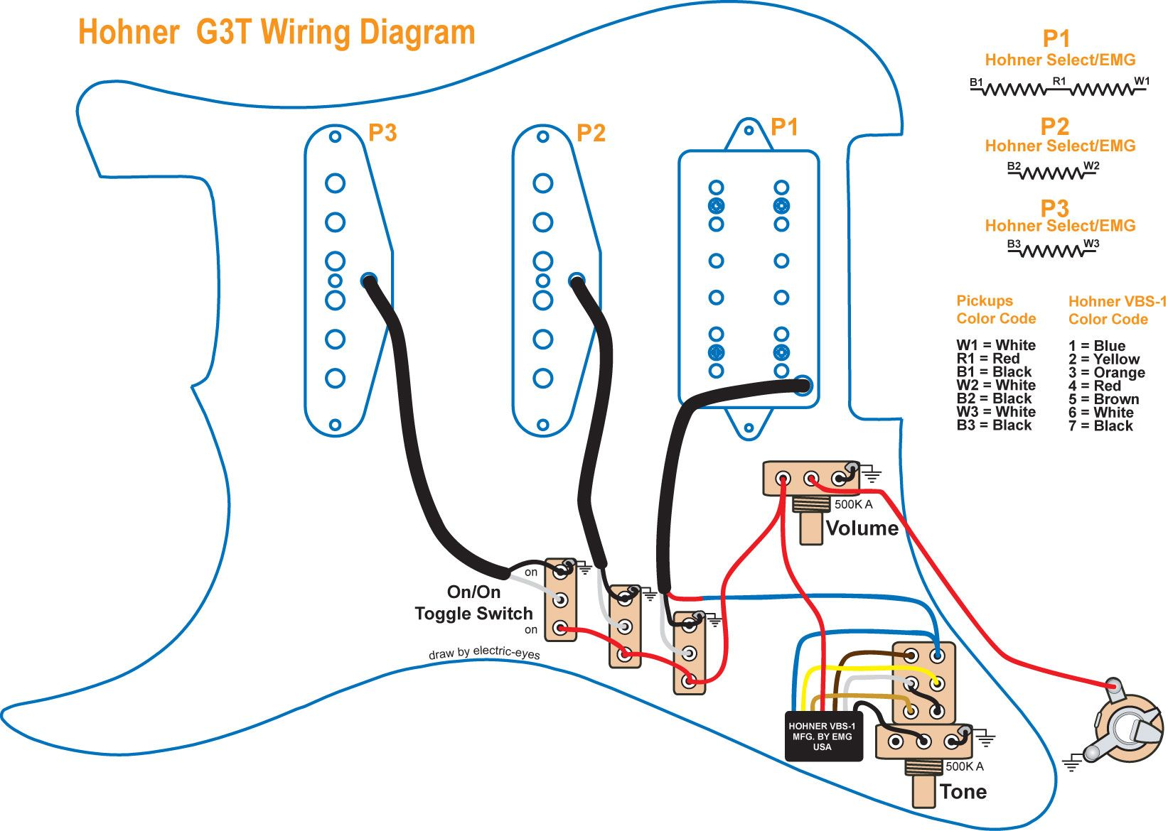 Incredible Hohner B Guitar Wiring Diagram Get Free Image About Luthier Renstra Mohammedshrine Wiring Digital Resources Renstramohammedshrineorg
