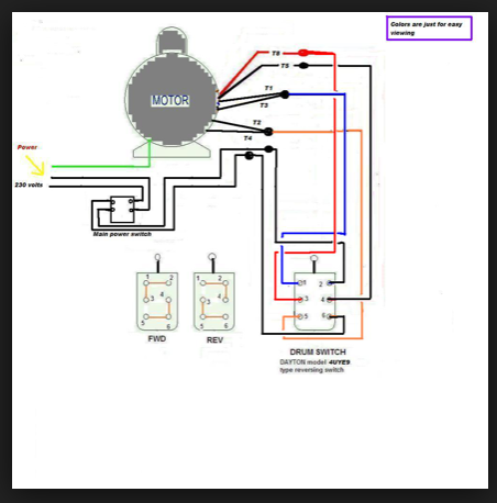 Groovy How Can We Switch A Single Phase Motor Forward Reverse And On Off Renstra Mohammedshrine Wiring Digital Resources Renstramohammedshrineorg