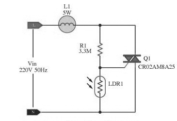 Awesome Automatic Lamp Dimmer Circuit Using Triac Gadgetronicx Renstra Mohammedshrine Wiring Digital Resources Renstramohammedshrineorg